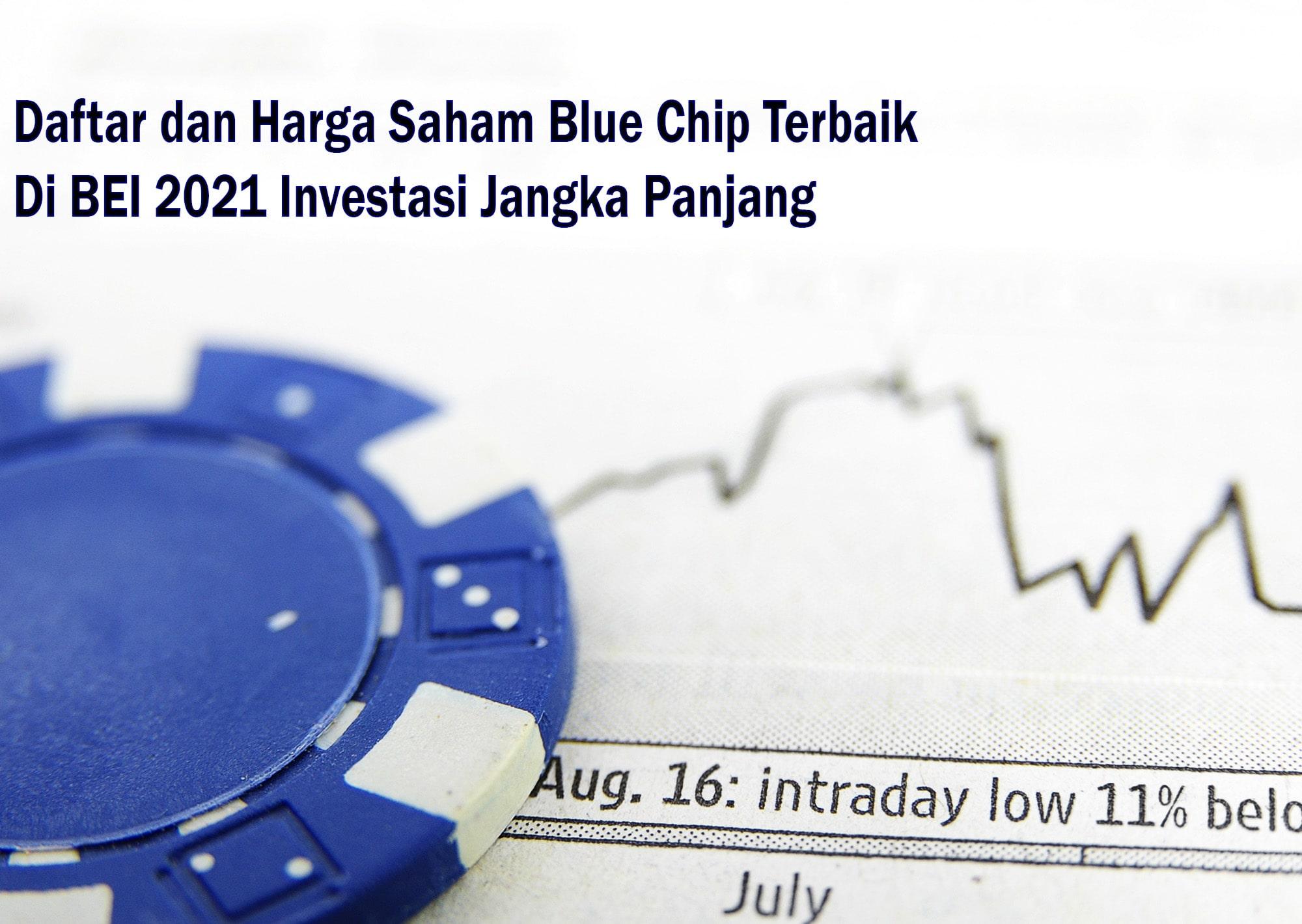Daftar dan Harga Saham Blue Chip Terbaik di BEI 2021